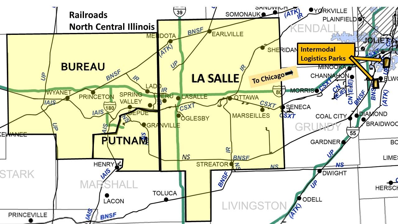 North Central Illinois Economic Development Corporation Railroads